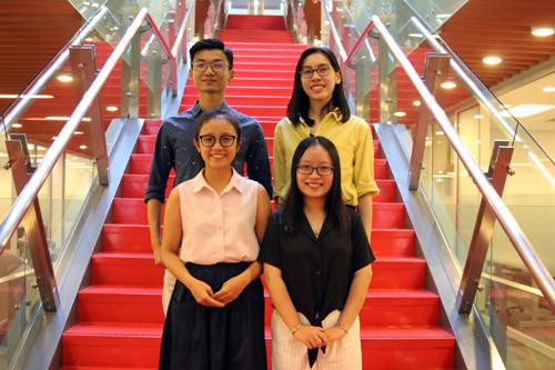 Bốn sinh viên RMIT Việt Nam đã giành chiến thắng vòng quốc gia cuộc thi Thử thách Đổi mới sáng tạo và Hợp tác KPMG (KICC) 2019.