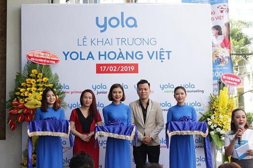 Lễ khai trương cắt băng khánh thành YOLA Hoàng Việt.