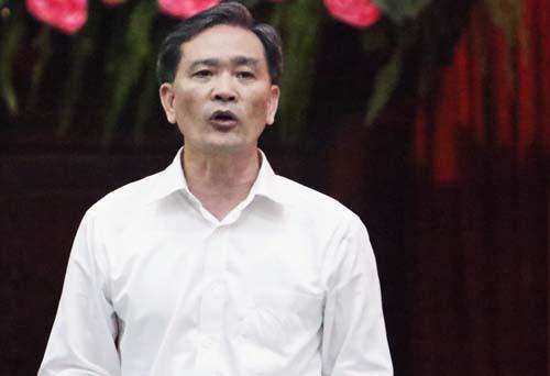 Chánh thanh tra TP Hà Nội Nguyễn An Huy. Ảnh: Võ Hải.