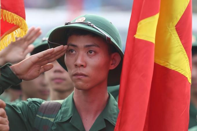 Cảm xúc của tân binh Hà Nội trong ngày nhập ngũ