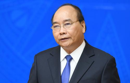 Thủ tướng Nguyễn Xuân Phúc. Ảnh: Quang Hiếu/VGP