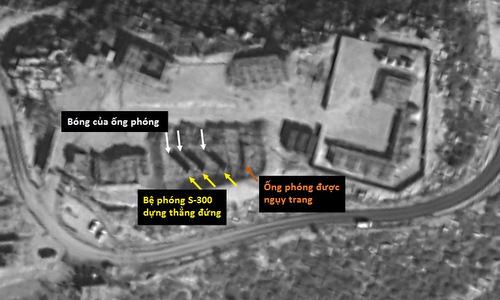 Trận địa S-300 Syria tại thành phố Masyaf hồi đầu tháng 2. Ảnh: ISI.