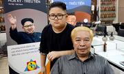 Salon cắt tóc kiểu Trump - Kim ở Hà Nội gây sốt trên báo nước ngoài