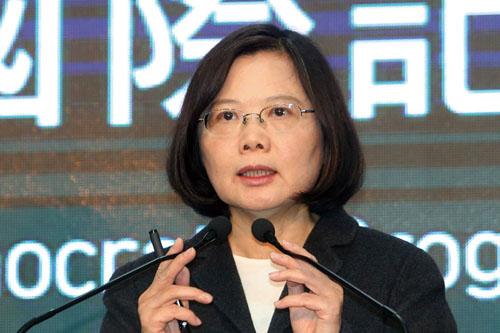 Lãnh đạo Đài Loan Thái Anh Văn. Ảnh: CNA.