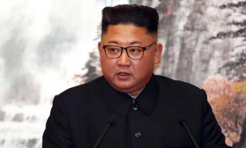 Lãnh đạo Triều Tiên Kim Jong-un. Ảnh: AP.