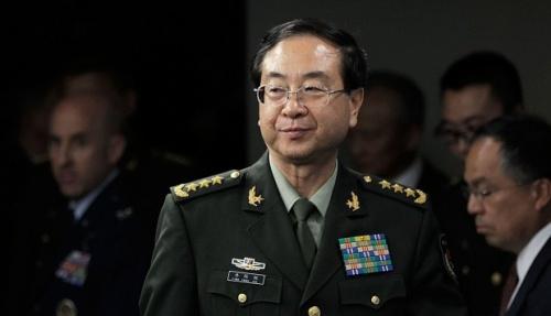 Phòng Phong Huy, cựu tổng tham mưu trưởng quân đội Trung Quốc. Ảnh:Xinhua.