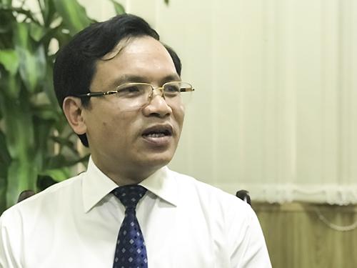 Ông Mai Văn Trinh trao đổi với báo chí vào chiều 21/2. Ảnh: Dương Tâm