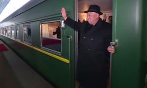 Đoàn tàu bọc thép của ông Kim Jong-un