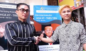 Kiểu tóc Trump - Kim hút khách ở Hà Nội