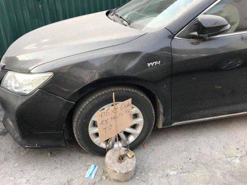 Đỗ xe sai còn được tặng quà.