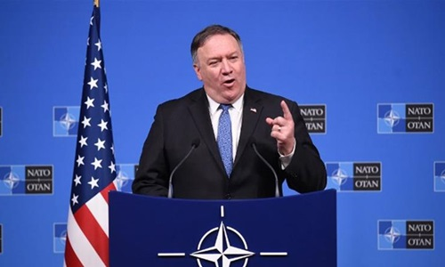 Ngoại trưởng Mỹ Mike Pompeo. Ảnh: Reuters.