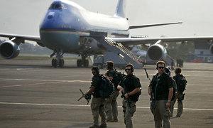 Vũ khí của lực lượng mật vụ bảo vệ Tổng thống Mỹ