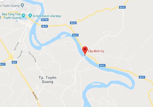 Khánh thành cầu hơn 800 tỷ đồng ở Tuyên Quang - 1
