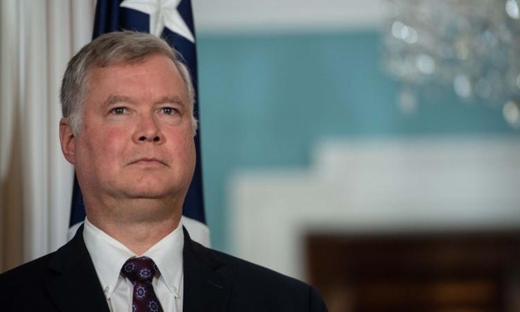 Đặc phái viên Mỹ về Triều Tiên Stephen Biegun. Ảnh: AFP.