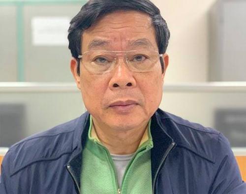 Ông Nguyễn Bắc Son bị bắt tại trụ sở Cơ quan Cảnh sát điều tra. Ảnh: Bộ Công an