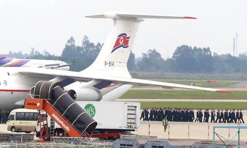 Đoàn nhân viên an ninh Triều Tiên tới Việt Nam