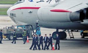 Cả trăm nhân viên an ninh Triều Tiên cấp tập đến Hà Nội
