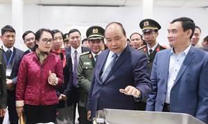Thủ tướng thị sát trung tâm báo chí phục vụ hội nghị Mỹ - Triều
