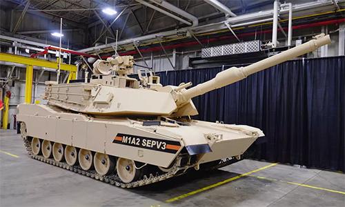 Biến thể M1A2 SEPv3 được công bố năm 2017. Ảnh: GDLS.
