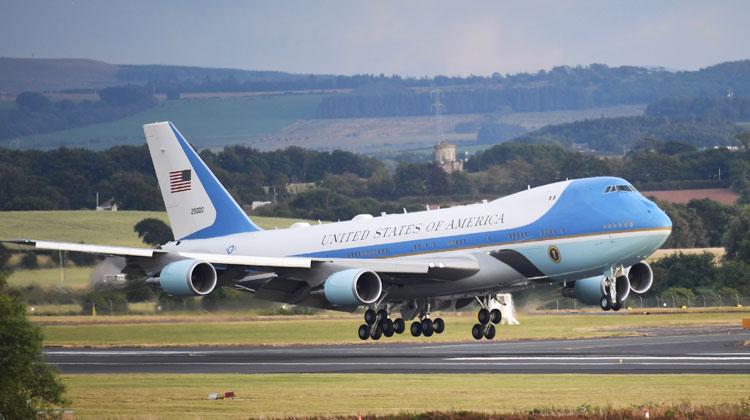Chuyên cơ Air Force One của tổng thống Mỹ. Ảnh: White House.