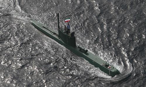 Một tàu ngầm lớp Ghadir của Iran. Ảnh: RT.