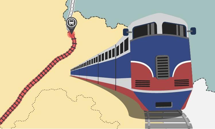 Hiện trạng tuyến đường sắt Hà Nội - Đồng Đăng. Đồ họa: Tạ Lư - Đoàn Loan