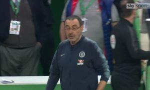 Thủ môn Chelsea từ chối quyết định thay người của HLV