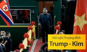Ngày đầu của ông Kim Jong-un ở Việt Nam