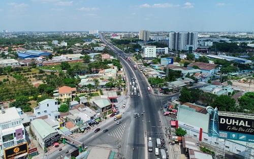 Thành phố Bình Dương thu hút nhiều dự án bất động sản nhờ tiềm năng phát triển kinh tế, hạ tầng, kết nối tốt với TP HCM.
