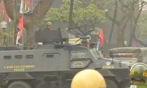 An ninh siết chặt quanh khách sạn ông Kim Jong-un lưu trú
