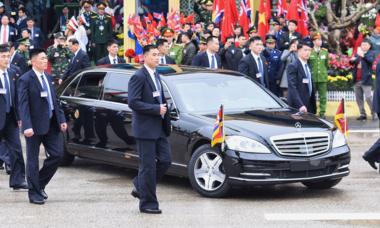 Mercedes S600 Pullman Guard - lá chắn thép của Kim Jong-un