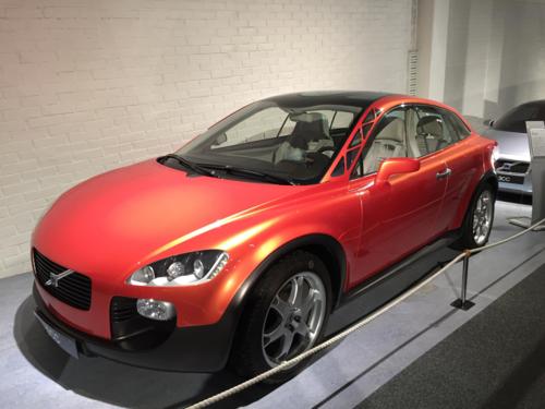 Mẫu SCC concept tại bảo tàng của Volvo ở Thụy Điển. Ảnh: Đức Huy.