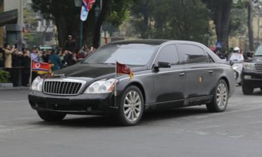 Maybach 62S - limousine quý tộc hộ tống Kim Jong-un