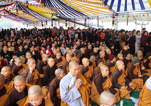 Hàng ngàn Phật tử tham dự Pháp hội Đại Bi Quan Thế Âm 2019.