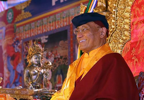 Đức Gyalwang Drukpa sẽ kiến giảinhiều thách thức về cuộc sống hiện tại.