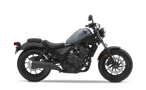 Honda Rebel 500 màu đen xanh đời 2019 tại Việt Nam.