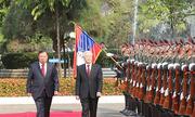 Tổng Bí thư, Chủ tịch nước kết thúc chuyến thăm Lào, Campuchia