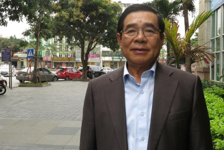 Cựu đại sứ Phạm Tiến Vân. Ảnh: KL.