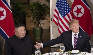 Bữa tối thân mật của Tổng thống Trump và Chủ tịch Kim