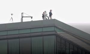 Mật vụ rà soát khách sạn Marriott nơi Tổng thống Mỹ lưu trú