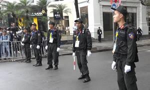 Hai vòng bảo vệ tại khách sạn diễn ra Hội nghị Mỹ - Triều