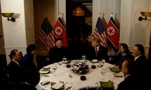 Bữa tối tại Hà Nội của Tổng thống Mỹ và lãnh đạo Triều Tiên