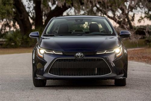 Toyota Corolla thế hệ mới có giá từ 20.100 USD tại Mỹ.