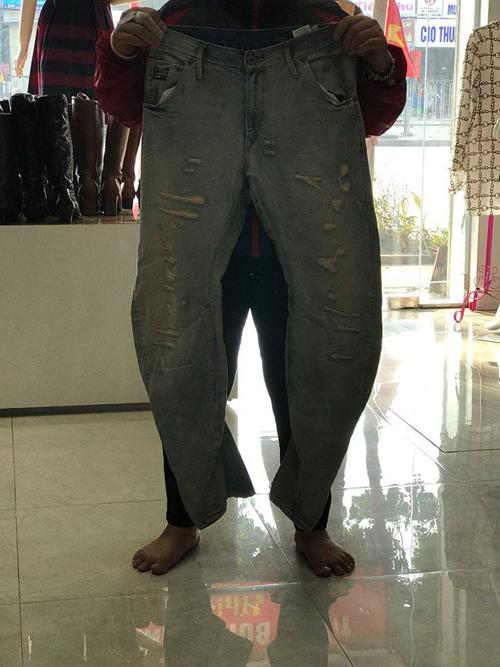 Chiếc quần độc nhật vô nhị ở Viêt Nam.