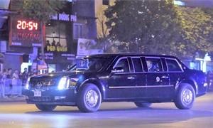 Lãnh đạo Trump - Kim kết thúc ăn tối, rời khách sạn Metropole