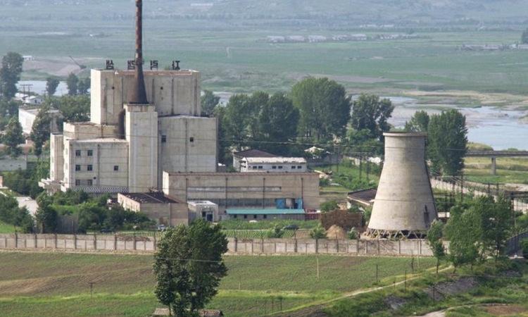 Một phần nhà máy hạt nhân Yongbyon của Triều Tiên hồi năm 2008. Ảnh: Reuters.