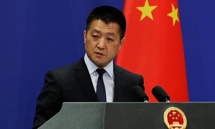 Phát ngôn viên Bộ Ngoại giao Trung Quốc Lục Khảng. Ảnh: PressTV.