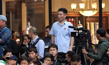 Những phóng viên Triều Tiên tác nghiệp ở Việt Nam