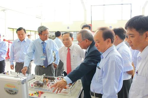 Trung tâm dịch vụ ô tô trang bị cơ sở vật chất đạt chuẩn quốc tế.