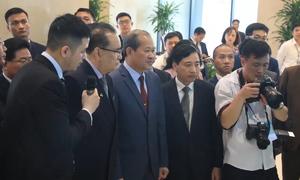 Đoàn Triều Tiên tham quan tại khu công nghệ cao Hòa Lạc